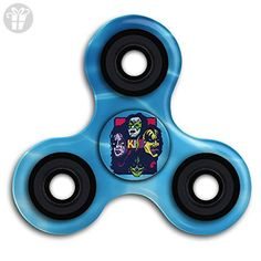 0ab187c5fba7 Kiss Lick It Up Tri Fidget Spinner High Speed Spin Hand Toy Relieve Stress  And Anxiety