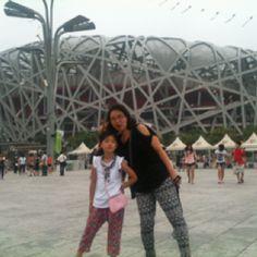 북경 TV는 런던 올림픽보다 자기네 올핌픽 얘길 더 많이한다  2008년 베이징 올림픽이 두 경기장