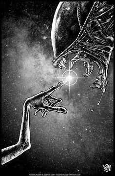 Aliens distintos