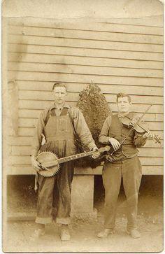 West Virginia MusiciansCharles Ballard Workman (with banjo) of Big Creek, Logan County, West Virginia, Post.I spent 9 yrs. In Big Creek, before moving to Danville.