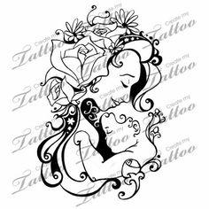 Resultado de imagen de Mother And children Tattoo Ideas