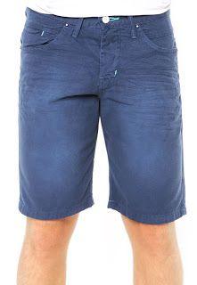 Bermuda Jeans Fatal Amassados Azul << R$ 4499 >>