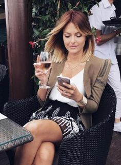 Caroline Receveur Love her hair! Balayage Hair, Ombre Hair, Caroline Receveur Hair, Long Bob Ombre, Coiffure Hair, Hair Transplant, Mode Outfits, Mode Inspiration, Fall Hair