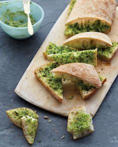Herbs + Garlic + Butter (+ Bread)