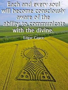 """Divine Spark:  """"Each and every soul will become consciously aware of the ability to communicate with the Divine.""""  ---Edgar Cayce (The Sleeping Prophet)."""