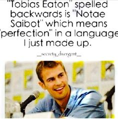 Forget that I'm an editor; remember I'm a linguist who finds this seriously awesome! LMFAO! #TheoJames