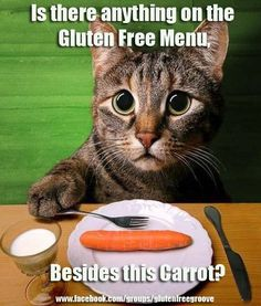 Is there anything on the Gluten Free Menu.... Besides this carrot?