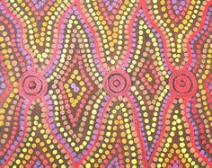Australian aboriginal art. I USED THIS FOR MY 6TH GRADE ABORIGINAL ART PROJECT!
