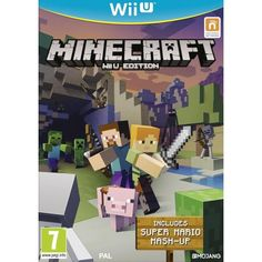 Minecraft Wii U Game | http://gamesactions.com shares #new #latest #videogames #games for #pc #psp #ps3 #wii #xbox #nintendo #3ds