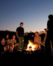 Campfire Cooking - inspiration from Martha Stewart Food