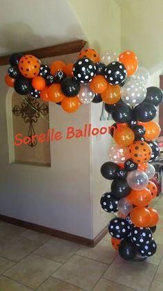 Half-Arch Halloween Theme Balloon Decoration