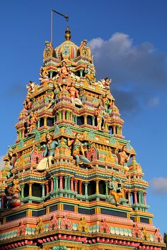 The Hindu temple in the small town of Goodlands in the north of Mauritius https://www.hotelscombined.com/Place/Haiti.htm?a_aid=150886