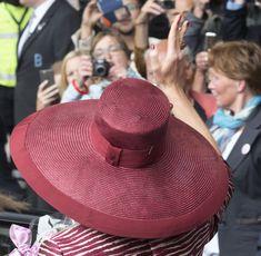 Queen Maxima of the Netherlands Opens Design Derby Netherlands - Belgium