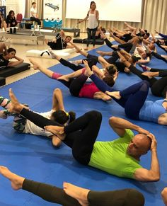 """@pilatesology on Instagram: """"Gloria Gaspari teaching the Pilatesology mat class at the Palermo Pilates Symposium 🎥😅  Thank you everyone for making this wonderful…"""" Pilates, Teaching Tips, Palermo, Goals, Workout, Classic, How To Make, Instagram, Pop Pilates"""