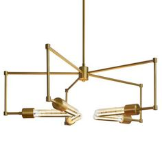 """Boomer Chandelier by Stone Lighting. $572.00 - $592.00. Height Adjustable From 17"""", Adjustable To 53"""", Diameter 26.6"""""""