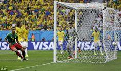 Brasil 2014: Brasil v/s Cameroon Photos   Football Wallpapers