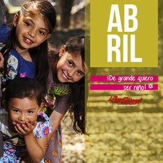 Abril mes del niño: Querer ser un niño es querer vivir!! Colección de camisetas, pañaleros y vestidos para niñas y niños, de venta en tiendas ¡Ay Güey!.