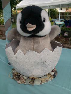 Penguin Party centerpieces