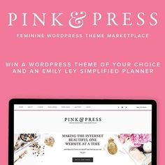 We have a fabulous giveaway going on over at the @pinkandpress site! Be sure to come by and enter! #Wordpress #simplifiedplanner #genesiswp #blogger #giveaway #pinkandpress (link in profile)