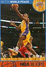 For Sale - 2013 LEGEND*** METTA WORLD PEACE- LOS ANGELES LAKERS 2013 PANINI HOOPS CARD