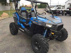 Used 2017 Polaris RZR S 900 EPS Velocity Blue ATVs For Sale in Pennsylvania.