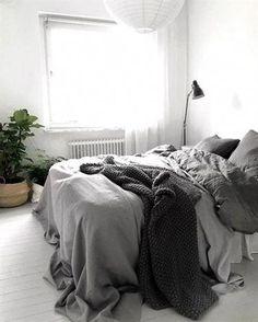 Best Minimalist Bedrooms That'll Inspire Your Inner Decor Nerd | StyleCaster #MinimalistBedroom #interiordesignbedroom