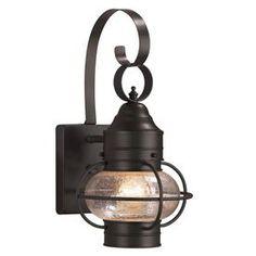Portfolio�Trevett 14-in H Matte Black Outdoor Wall Light