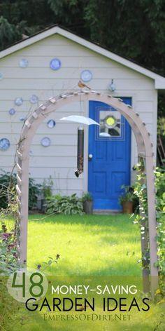 48 Smart, money-saving garden ideas for organic gardeners