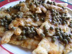 Chicken with Brown Butter & Caper Sauce
