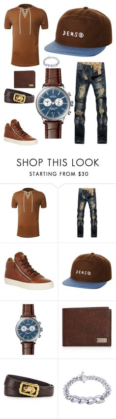 """Patrick"" by seniorswayout ❤ liked on Polyvore featuring Giuseppe Zanotti, Deus ex Machina, Shinola, Salvatore Ferragamo, Stefano Ricci, Kobelli, men's fashion and menswear"