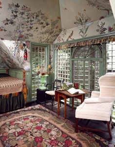 Beauport, the Sleeper-McCann House - Linda Merrill It's Spring! and a visit to Beauport, the Sleeper-McCann House - Linda Merrill Home Design, Interior Design, Design Hotel, Deco Boheme Chic, Aesthetic Bedroom, Dream Rooms, My New Room, House Rooms, Room Inspiration