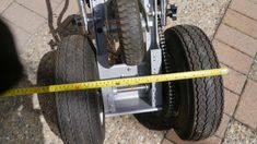 This trailer dolly is built using parts available at Princess Auto (in Canada) and probably Harbour Freight in the US. Parts list: 2000 lb ATV winch 16 tooth drive gear 54 tooth driven gear… Trailer Dolly, Power Trailer, Boat Trailer, Atv Winch, Chariot Manutention, Caravan Mover, Utility Trailer Camper, Homemade Trailer, Soldering