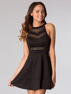 A-Line/Princess Scoop Sleeveless Short/Mini Spandex Dresses