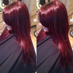 #redhaircolor by Steph #milazzomattey #milltown #nj #salon #haircolor #red