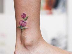 Tatouage cheville – il s'articule avec discrétion