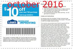 Free Printable Coupons: Lowes Home Improvement Coupons Free Printable Coupons, Free Printables, Lowes Coupon, Store Coupons, Grocery Coupons, Print Coupons, Coupons For Boyfriend