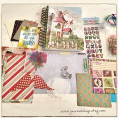 Art journaling kit for an 11-year old!