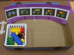 Here is a sequencing activity that builds a car; this approach can be modified with many types of multi-step constructions.
