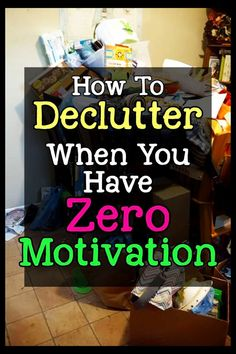 How To Get Motivated To Clean When Depressed & UN-Motivated (Cleaning Motivation!) - Tips from professional organizers: organizing ideas, declutter and organize and decluttering ideas w - Daily Cleaning, Deep Cleaning Tips, Household Cleaning Tips, House Cleaning Tips, Cleaning Hacks, Cleaning Routines, Cleaning Checklist, Cleaning Products, Spring Cleaning