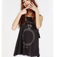SOLD OUT - Just listed for sale in my closet on Poshmark -  ️NWT Wildfox 'If You Like It, Put a Ring on It!' Tunic Coverup Tank. Check it out!  Size: S Username:  allygirl1964 #wildfox #poshmark #poshmarkstyle