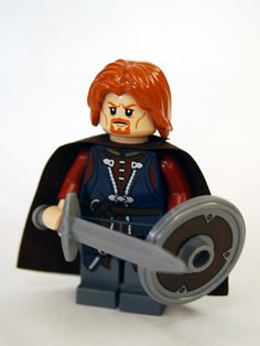 Boromir LEGO figure from LOTR