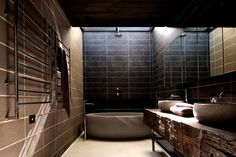 Such a cool Bathroom - by Architects EAT based in Melbourne!