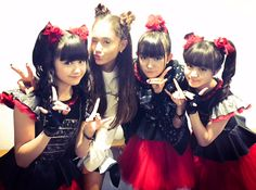 @BABYMETAL_JAPAN  Lovely and sweet time with @ArianaGrande
