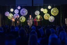 Coral Globes, Stage Lighting - Photo by Jared Tennant Photography | by IntelligentLightingDesign