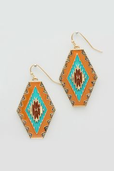 Seraphine Earrings in Spice and Ice