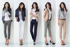 女性のオフィスカジュアルとは?靴、服ブランド、プチプラ着まわしも❤   美人部