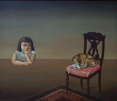 abel jimenez, pintor mexicano, oleo