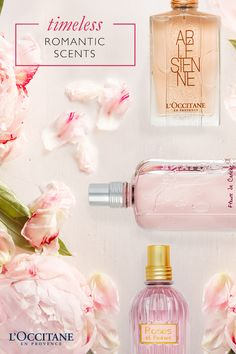Our delicate and enchanting floral perfumes will whisk you away to the South of France in a whirlwind of exotic fragrances. Our rose, cherry blossom, and peony flowers are cultivated and refined into enchanting scents, perfect for the woman who is both charming and graceful. Wear this on date night for a romantic fragrance you'll both love.