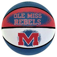 Ole Miss Rebels Mini Basketball, Multicolor
