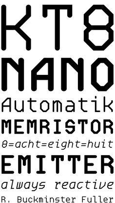 Oktal Mono by Joachim Müller-Lancé and Erik Adigard (Delve Fonts) Monospace, Editorial Design, Fonts, Typography, Designer Fonts, Editorial Layout, Type Fonts, Script Fonts